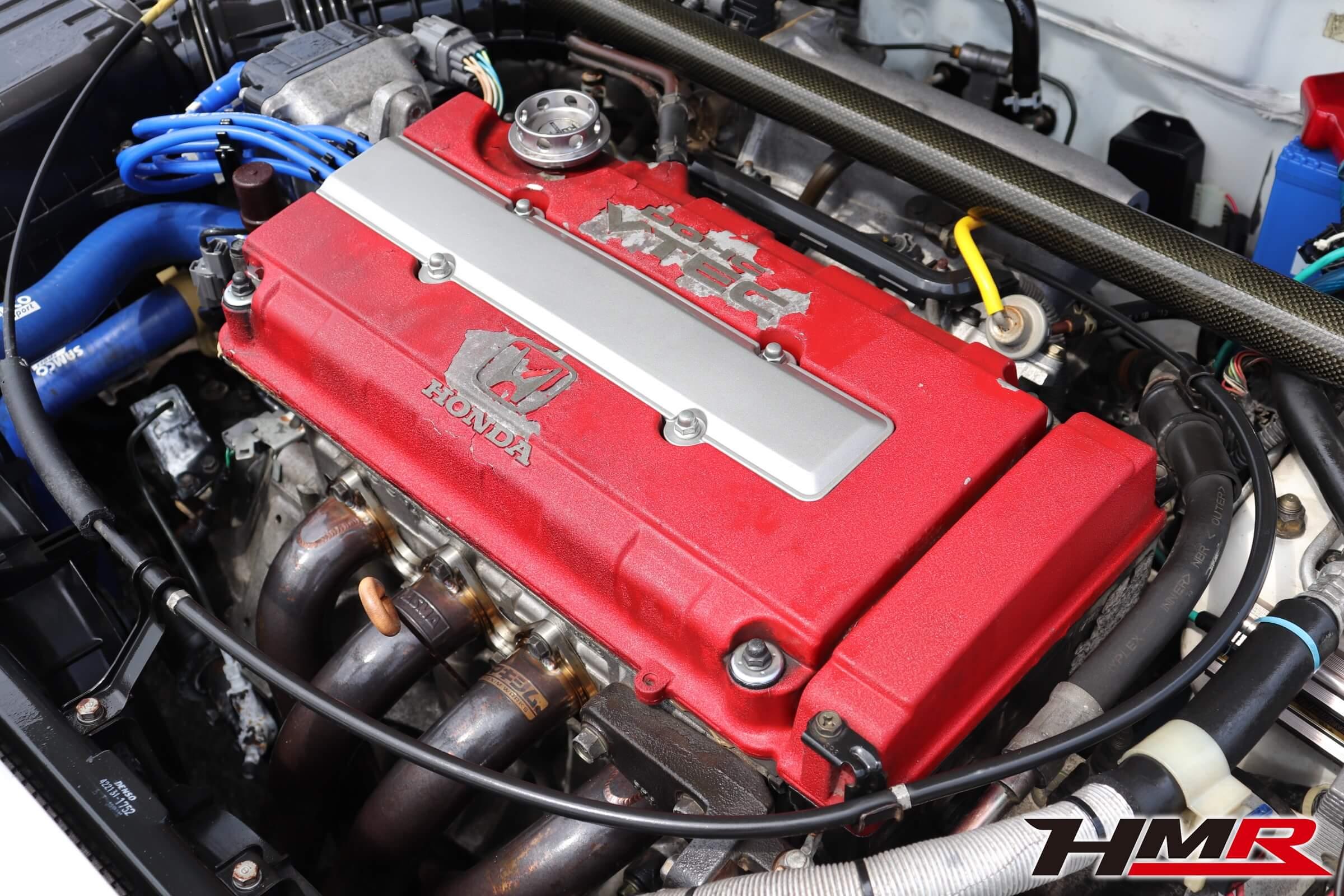 インテグラタイプR(DB8)B18Cエンジン