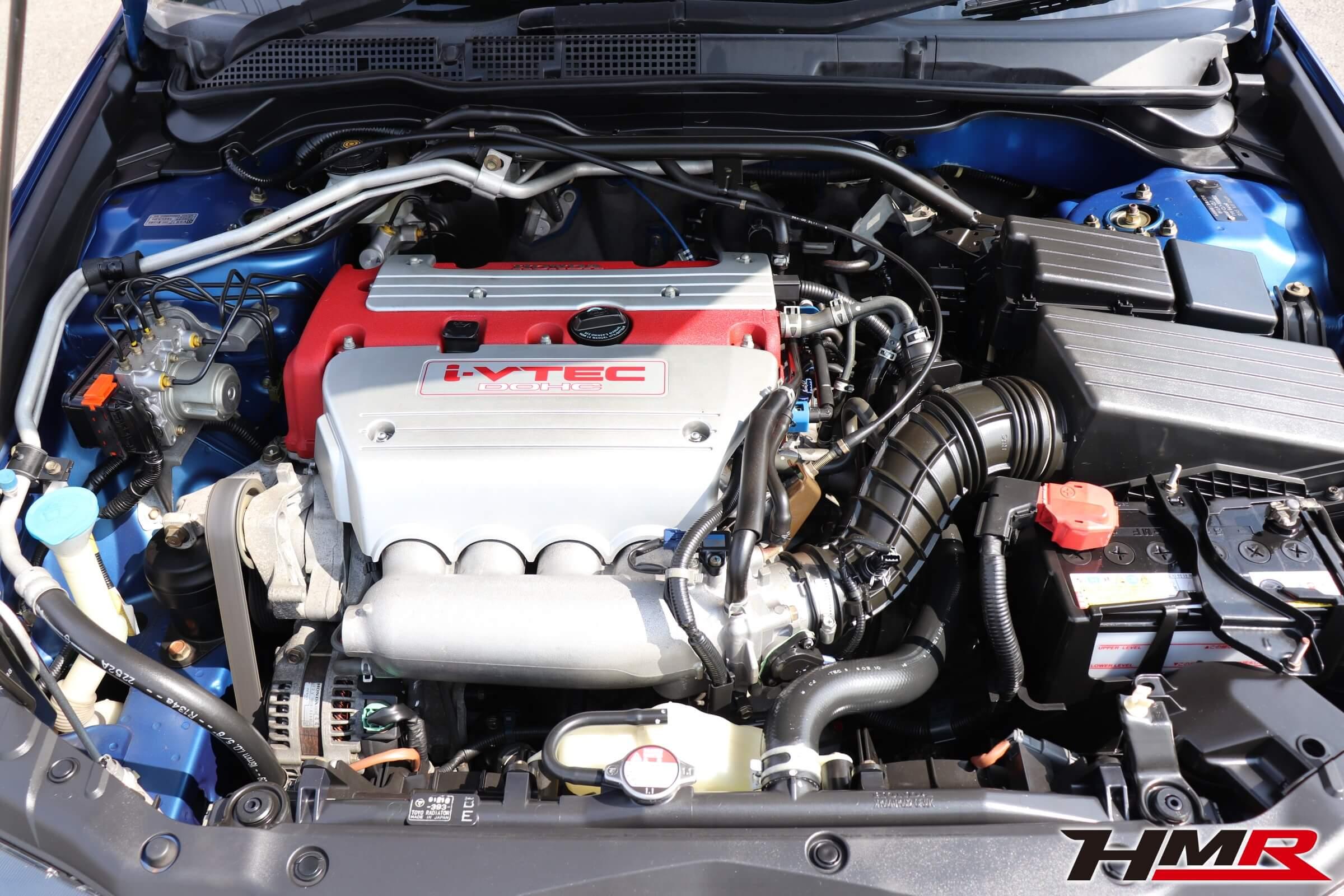 アコードユーロR(CL7)エンジンルーム