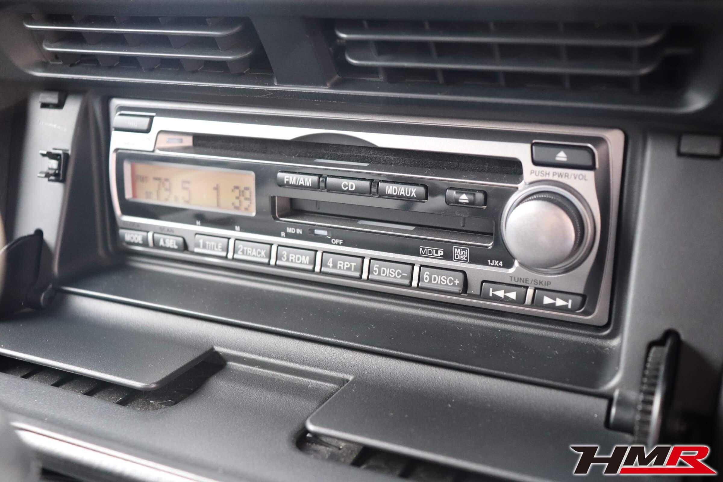 S2000(AP1) 純正CDMDデッキ