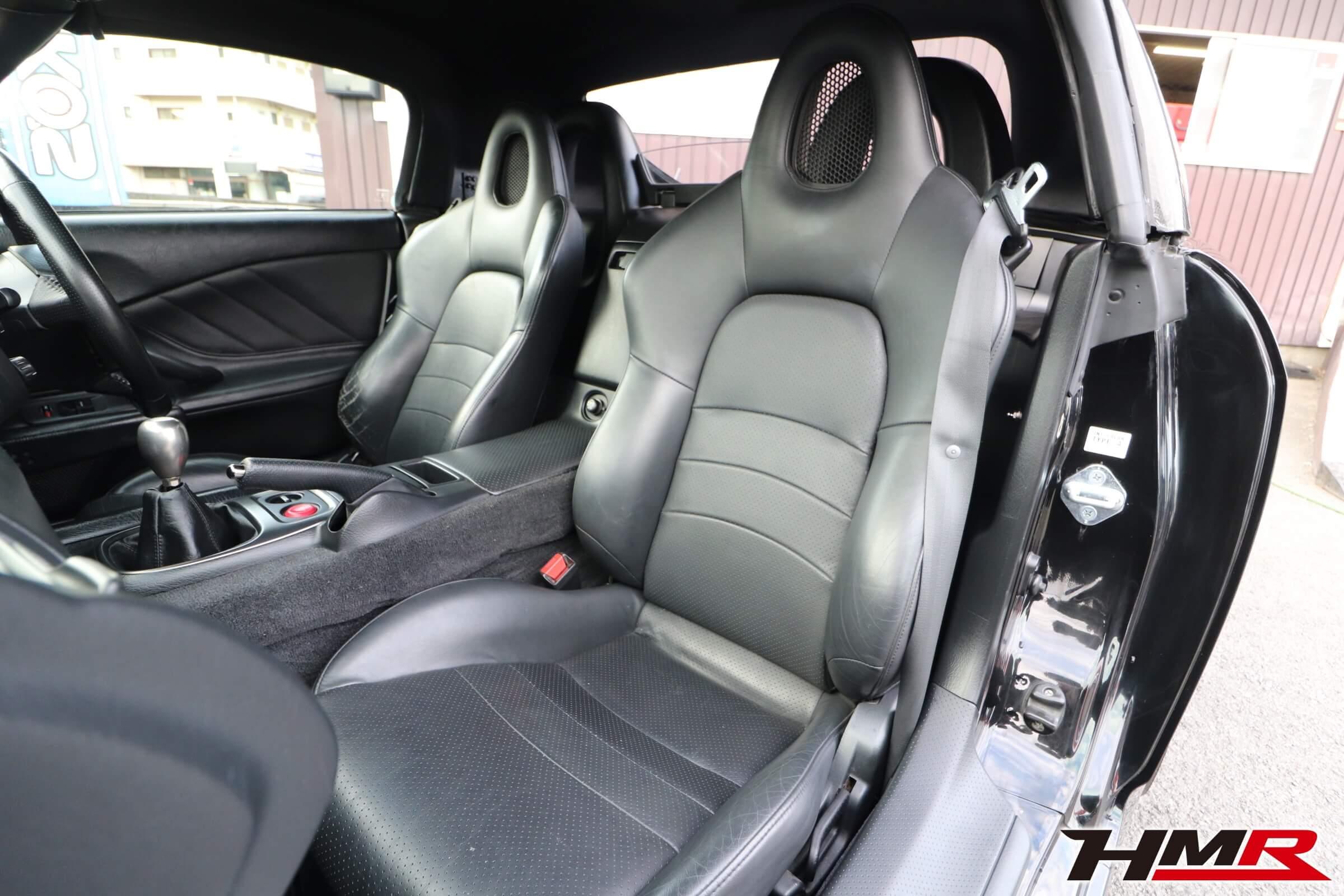 S2000(AP1) ブラックレザーシート