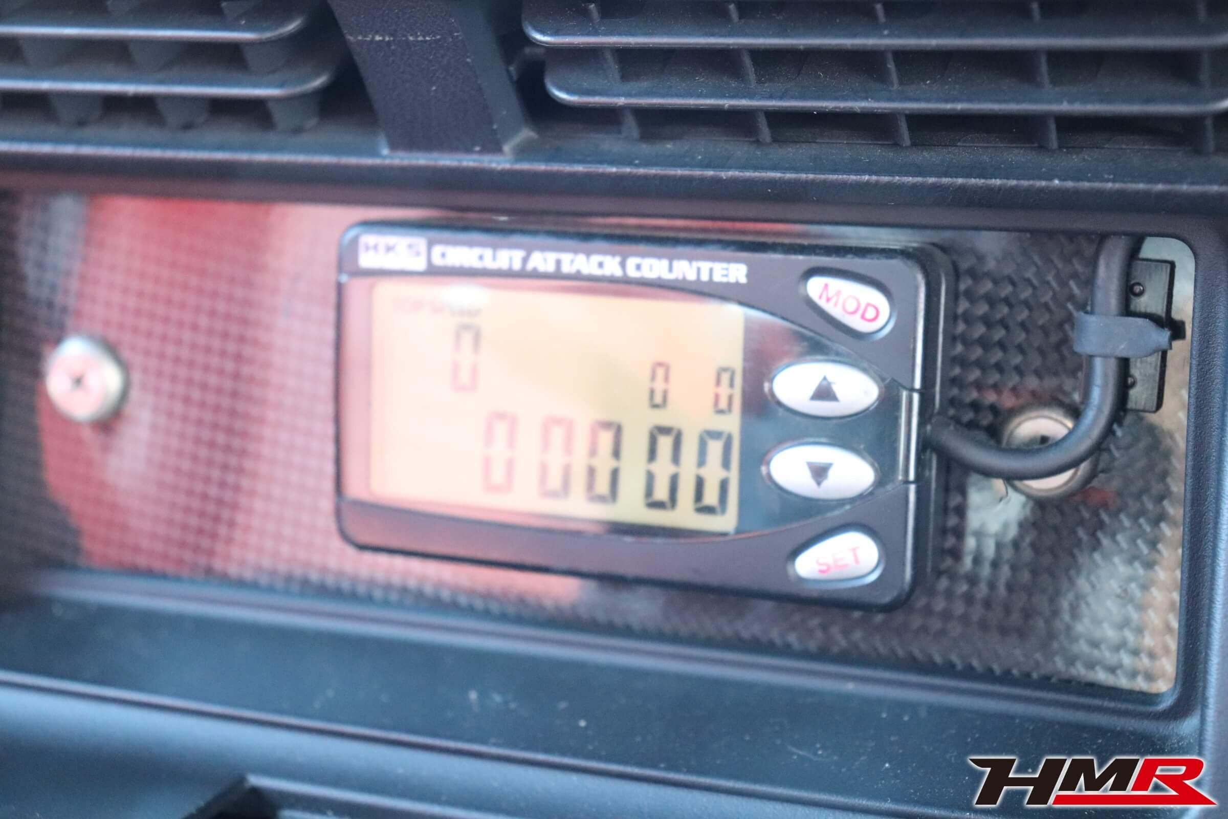 S2000(AP1)HKSサーキットアタックカウンター