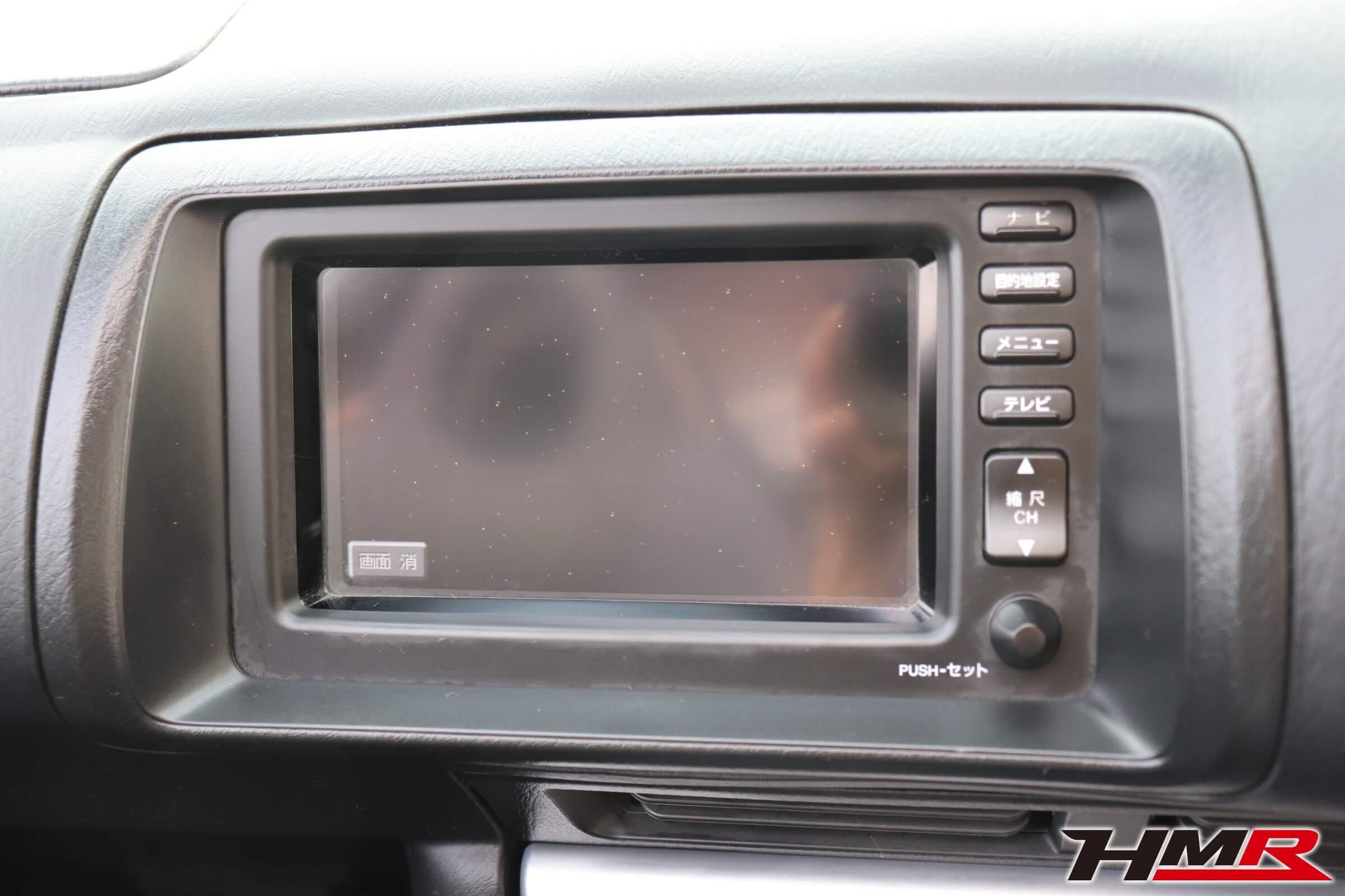 S2000(AP1)純正DVDモニター