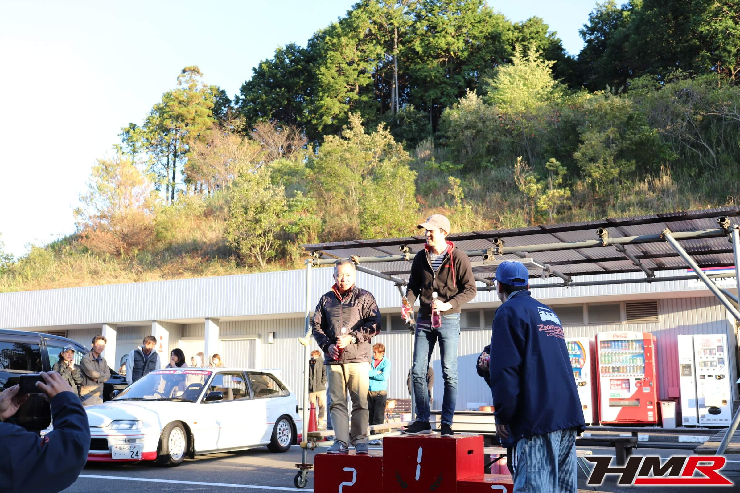 ホンダワンメイクレースROUND4鈴鹿ツイン 表彰式