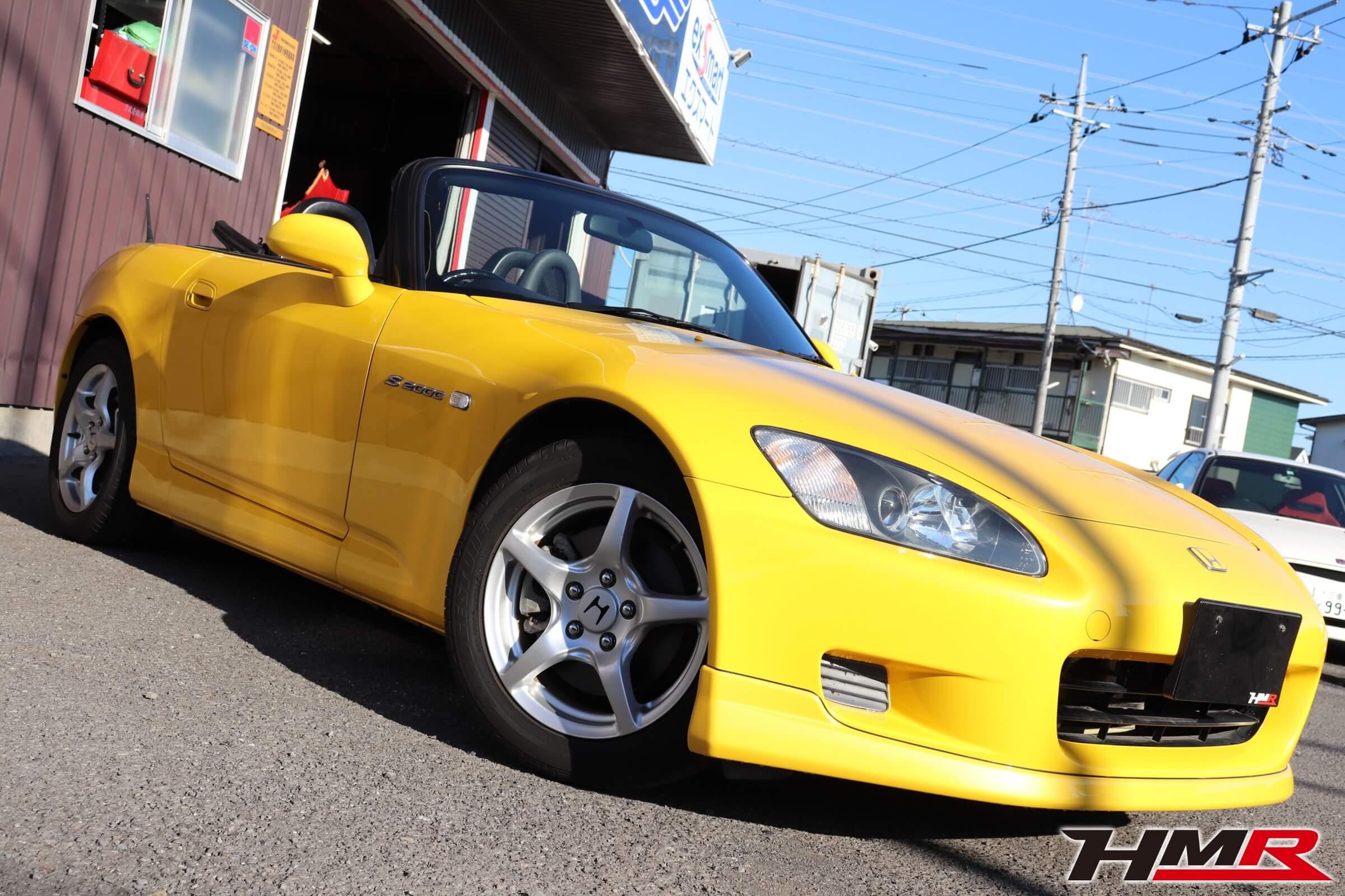 S2000(AP1)インディイエロー