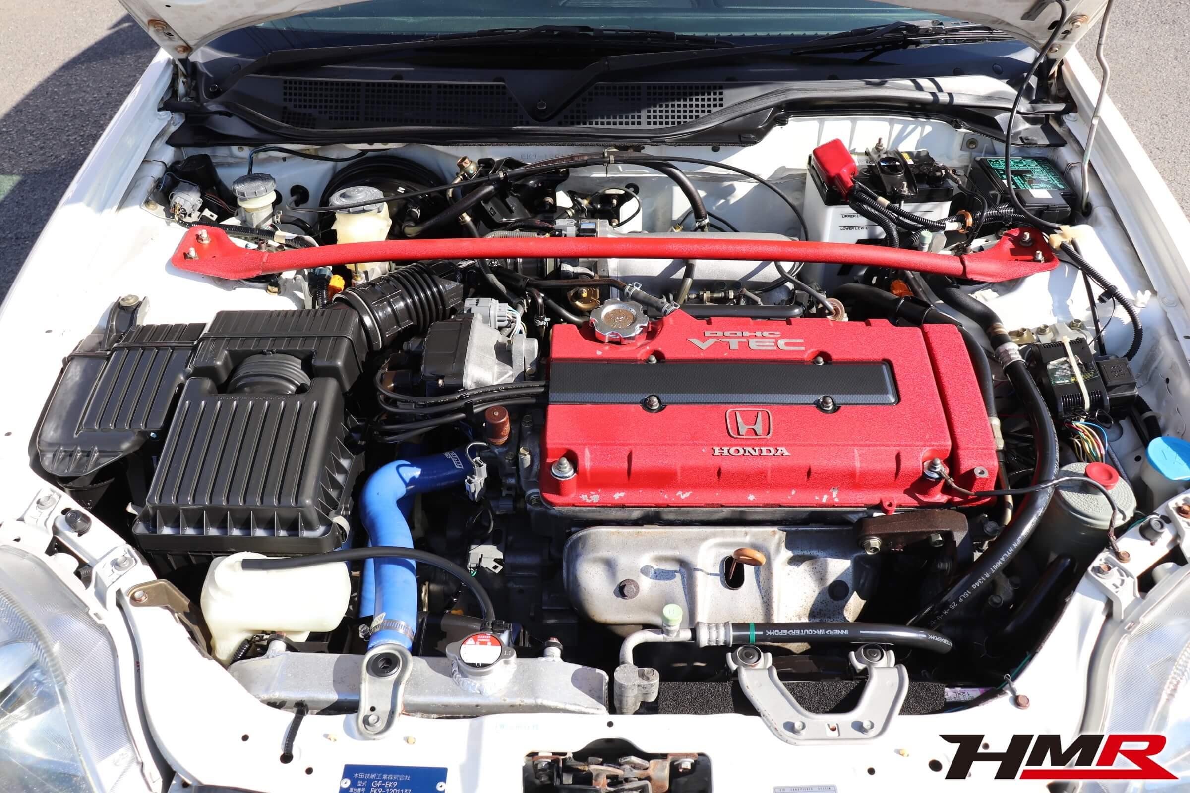シビックタイプR(EK9)エンジン