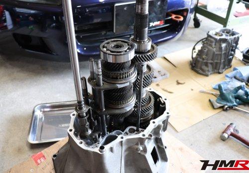S2000ミッション修理