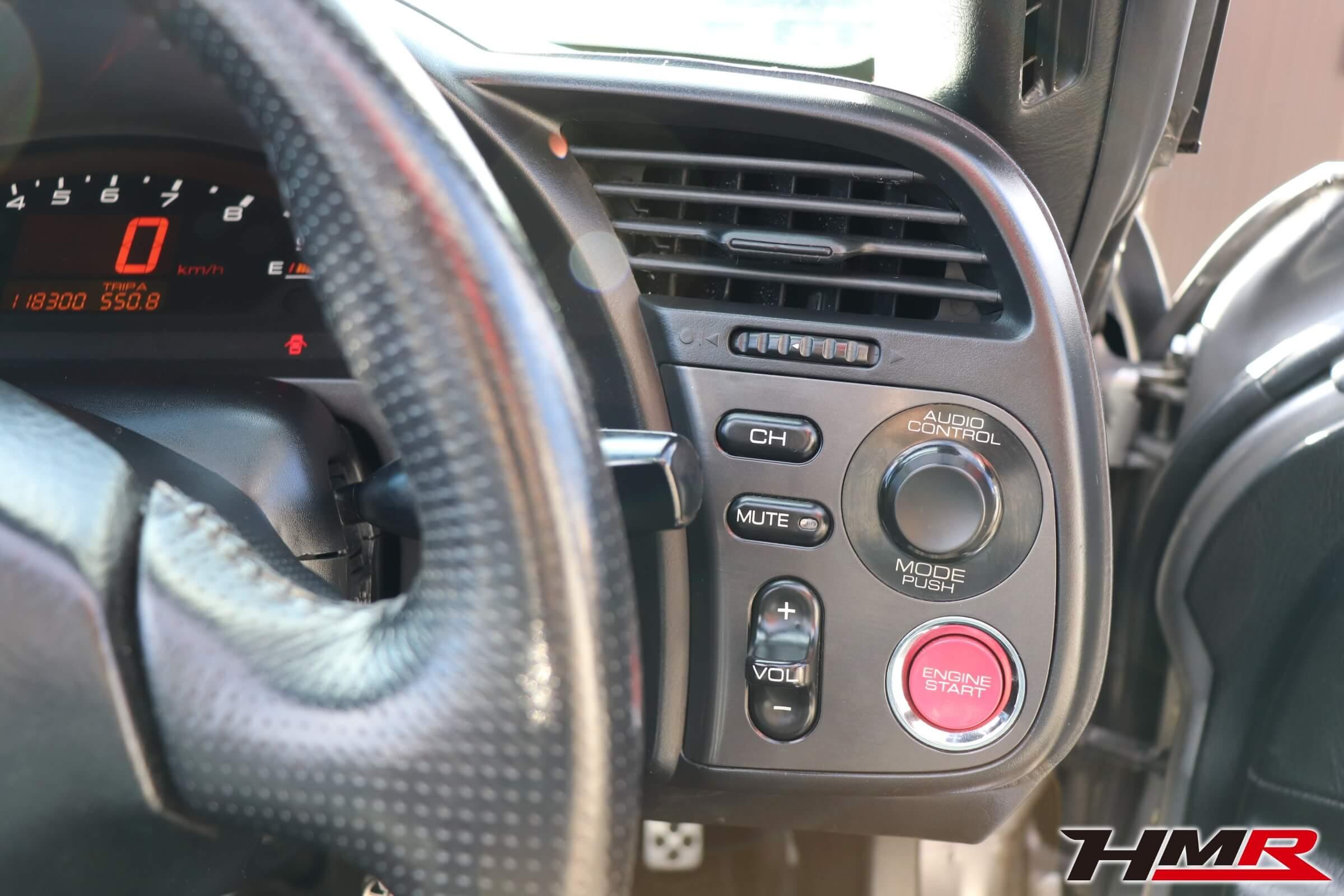 S2000(AP1)エンジンスタートボタン