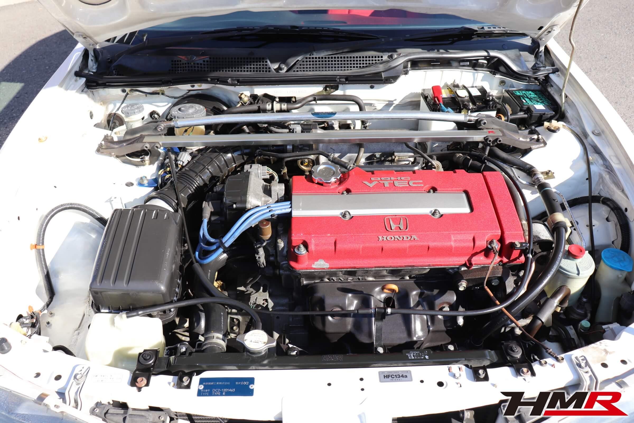 インテグラタイプR(DC2)エンジン