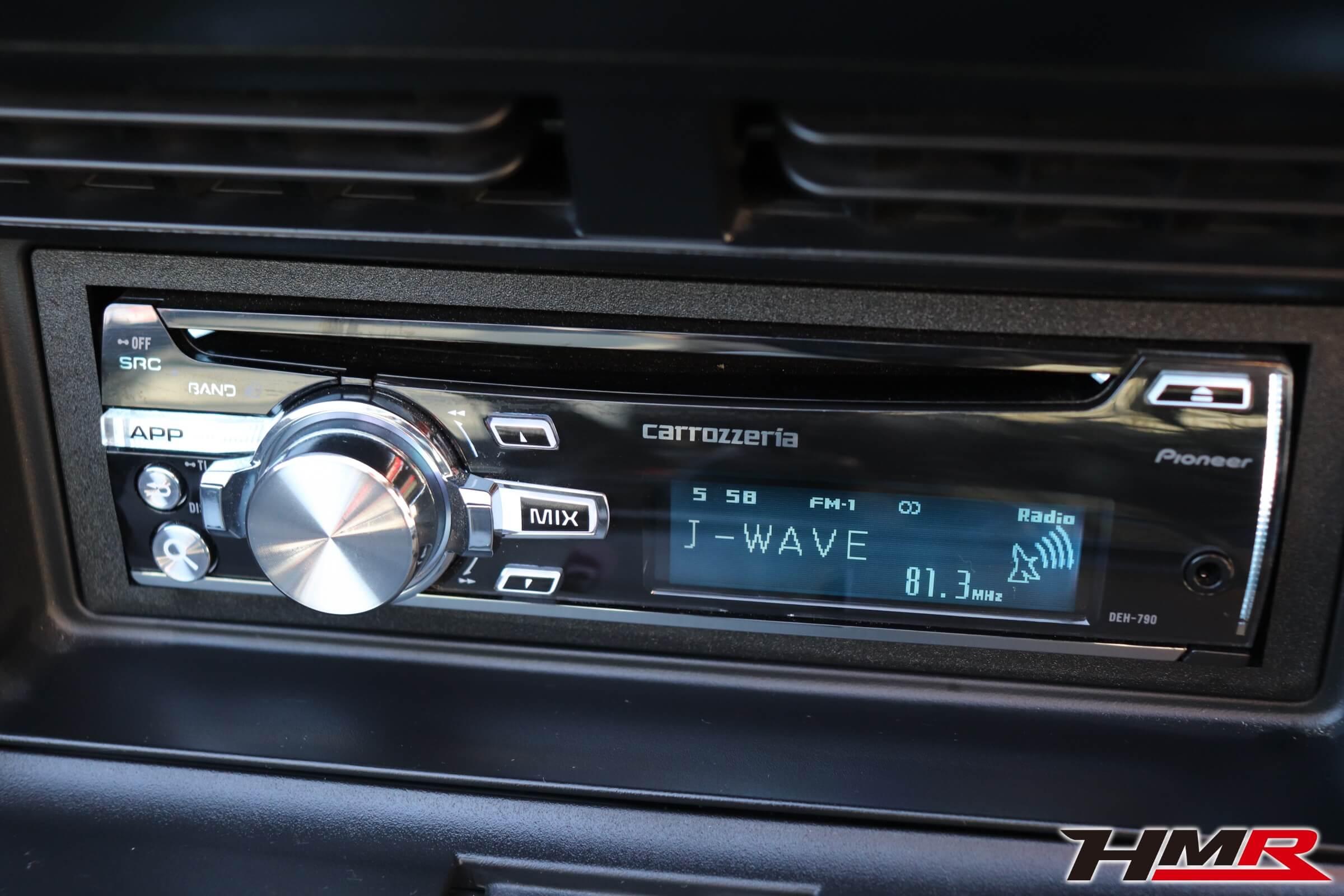S2000(AP2)カロッツェリアCDデッキ
