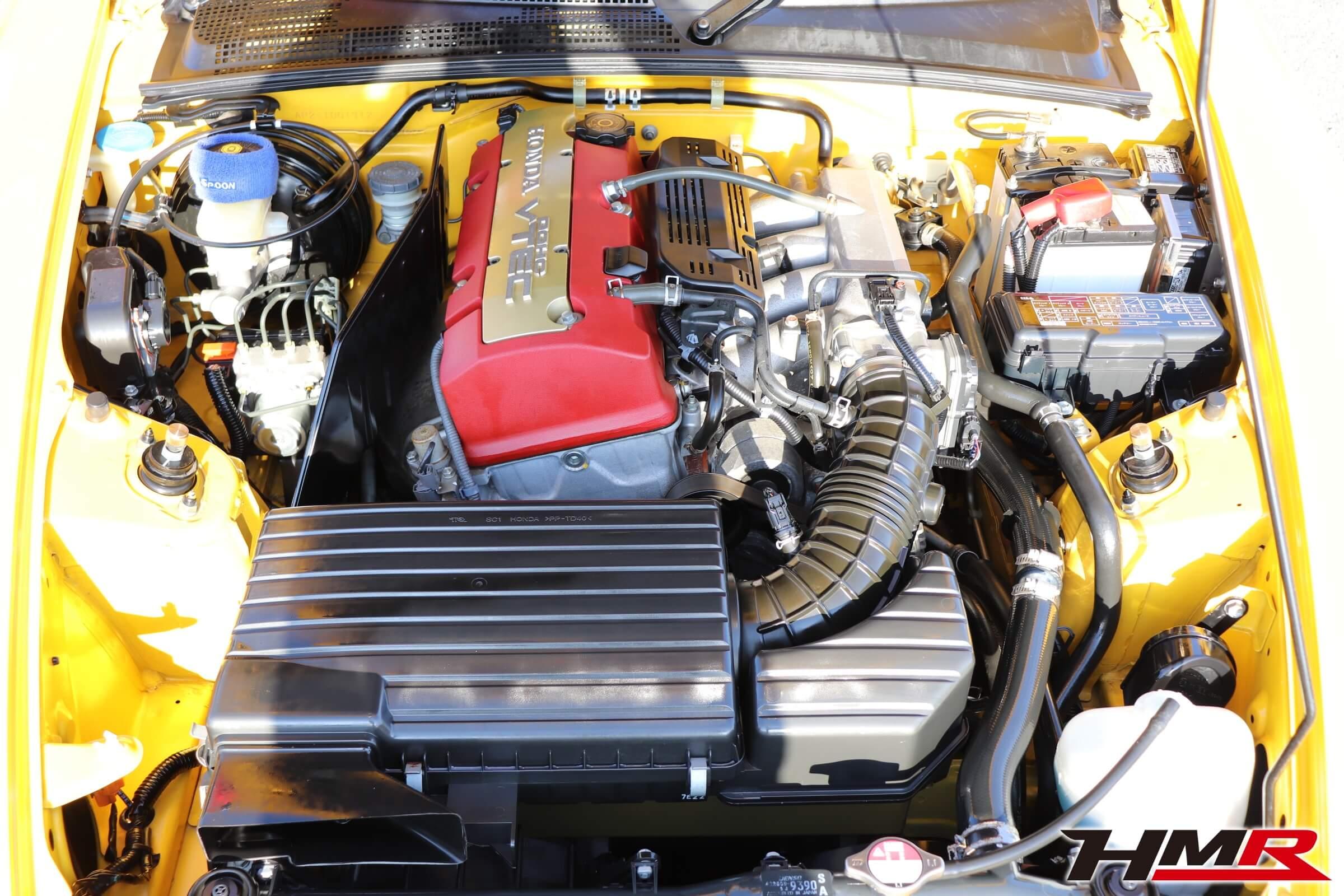 S2000(AP2)エンジン